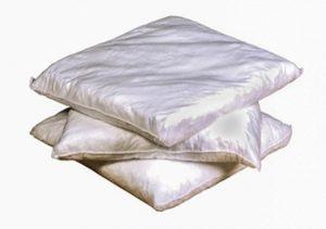 Kissen-weiß-hydrophob