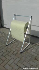 BuuM-Rollenhalter-Breite-50cm-Bodenstaender
